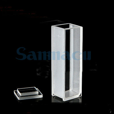 4ml 10mm Path Length Micro Quartz Cuvette Cell For 721 Spectrophotometers