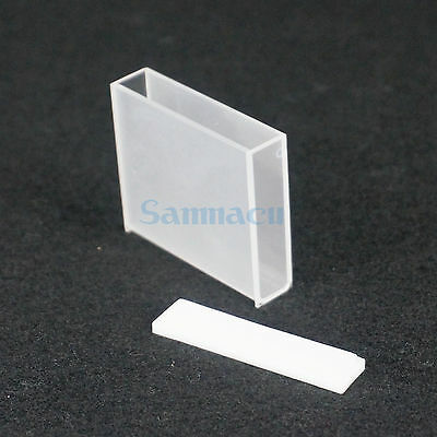 50mm JGS1 Quartz Cuvette Cell With Lid For Uv Spectrophotometers