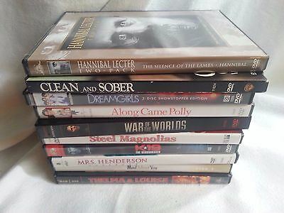 Lot Of 10 Dvd's - Action, Comedy, Drama-All Clean, All Work Good