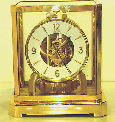 Awesome Jaiger LeCoultre 1970's Atmos Clock 528 Swiss S#363,000 Serviced Working