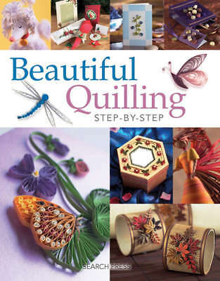 Search Press Books Beautiful Quilling Step By Step SP-5109