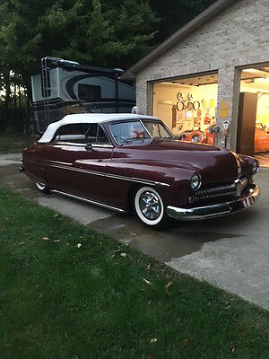 1950 Mercury Other Custom Convertible 1950 Mercury Custom Convertible