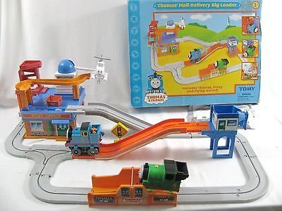 Tomy Thomas Friends & Percy Big Loader Mail Delivery Flying Harold Chassis 2005