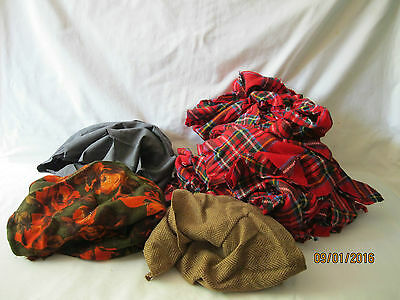 Wool Scraps for braided rug various colors