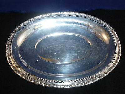 Vintage Wallace Sterling Silver Platter Tray  3652-3 - 329 Grams