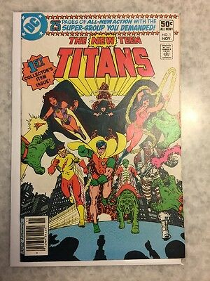 New Teen Titans 1. VF copy