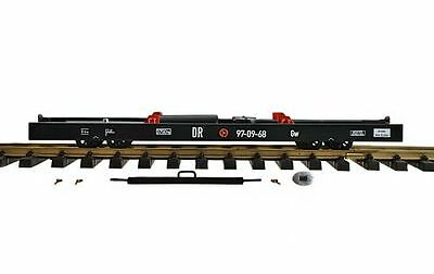 Zenner Trolley G Scale, for track II (64mm) Car, 350mm simple Model, black