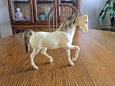Vintage BREYER Classic Model HORSE - Prancing Horse - White with Gray
