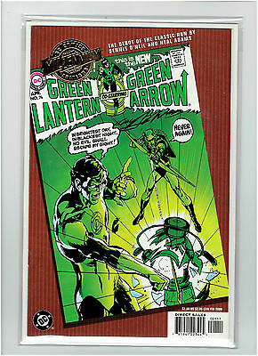 Green Lantern #76 Dc Millennium Gold Foil Variant Signed By Neal Adams Nm 9.4