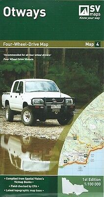 Spatial Vision Otways Map *FREE SHIPPING - NEW*