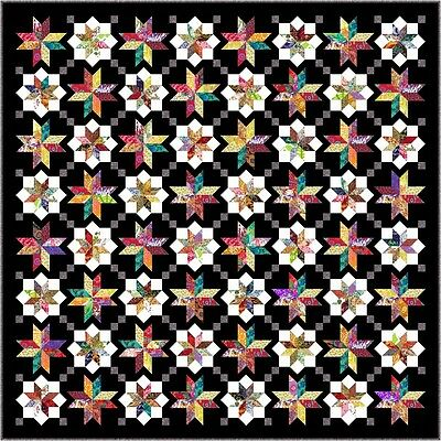 "NEW - LYRICAL - 103"" - Quilt-Addicts Pre-cut Patchwork Quilt Kit"