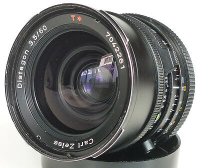Carl Zeiss HASSELBLAD DISTAGON T* CF 60mm f/3.5 medium format WIDE ANGLE LENS