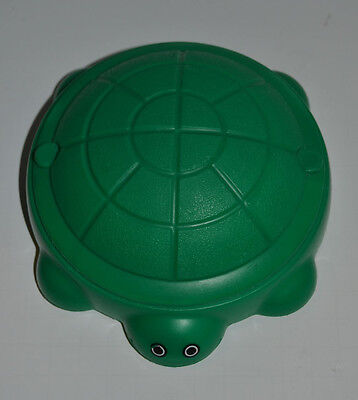 Little Tikes Dollhouse Vintage Turtle Sandbox With Lid Doll House Accessory