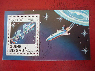 Guinea-Bissau - 1983 - Space - Minisheet - Unmounted Used - Ex. Condition