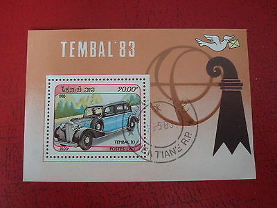 Laos - 1983 Tembal - Minisheet - Unmounted Used - Ex. Condition