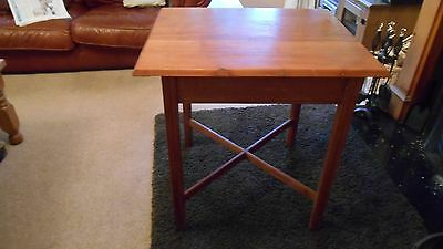Card Or Occasional Table Walnut And Teak