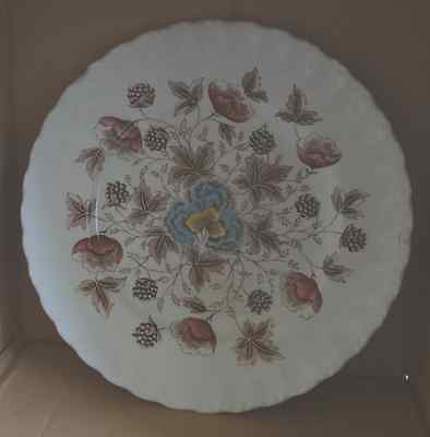 W.H. Grindley Old Chelsea Plate 25cm