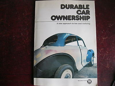 Durable Car Ownership By Charles Ware. Morris Minor