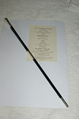 Antique Solid Silver Furnished Conductors Baton Hallmarked London 1900