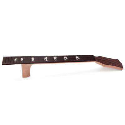 41inch Acoustic Guitar Neck Solid Mahogany&Fingerboard Inlay Pratical Parts