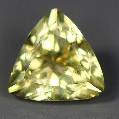 1.63 Cts_Wow Unbelivable Brazilian Gemstone_100 % Natural Heliodore Yellow Beryl