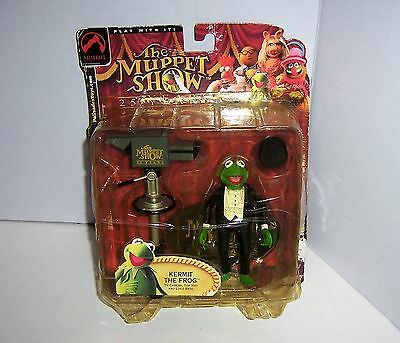 The Muppet Show 25 Years KERMIT THE FROG Action Figure Top Hat & Tux 2002