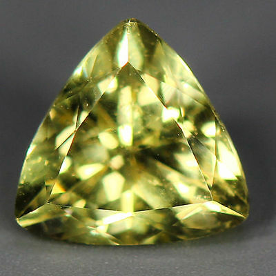1.57 Cts_Wow Unbelivable Brazilian Gemstone_100 % Natural Heliodore Yellow Beryl