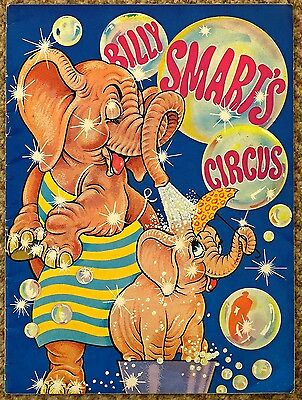 1968 Billy Smart's Circus Programme