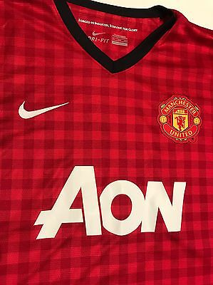 Manchester United Men's Soccer Jersey Rooney Ibrahimovic Size XXL