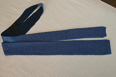 Massimo Dutti Mens Mulberry Silk Knitted Tie - New