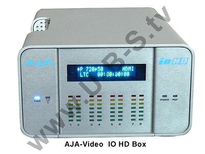 AJA-Video - IO HD Box - Up/Down/Cross-Konvertierung SD-SDI und HD-SDI I/O