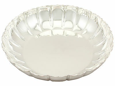 Antique Sterling Silver Strawberry Dish - George V
