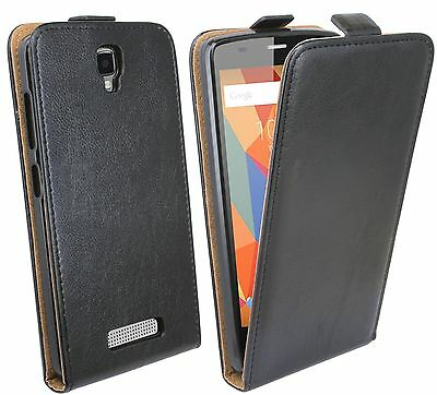 Mobile Phone Cover Case Tab Pouch Accessories Black For ZTE Blade L5 @ COFI
