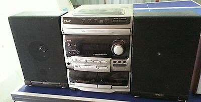 stereo hi fi systems, radio w/ cassette deck and speakers - bulk sale