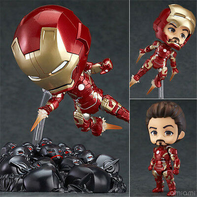 Nendoroid Iron Man Marvel's TheAvengers 543# Mk43 Ultron Sentinel Figure Figuren