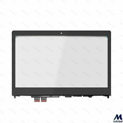 Touch Screen Digitizer Glass Panel Replacement for Lenovo YOGA 510-14IKB 80VB