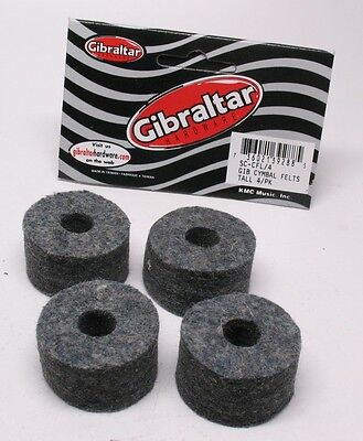 Gibraltar SC-CFL/4 Cymbal Felts - Long (Pack of 4)