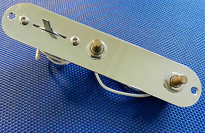 2009 Fender Telecaster Loaded CONTROL PLATE Pots Switch - Tele Electric Guitar