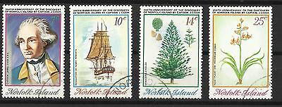 Norfolk Island - Captain Cook set - 1974 - Discovery of Norfolk Island  - G/Used