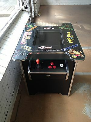 60 Games In One - Classic Cocktail Arcade Machine