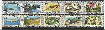 Norfolk Island - Philip and Nepean Islands set - 1982 - G/Used