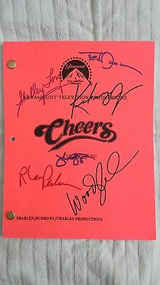 Cheers Scripts, One Signed By Cast