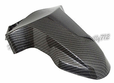 Genuine Front Fender Mud Flap Guard Carbon Fit 2009-2016 YAMAHA Zuma BWS YW 125