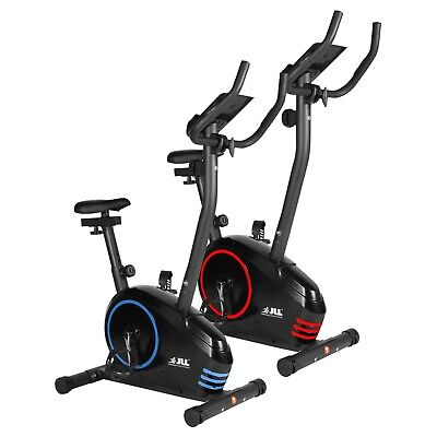 JLL® JF150 Upright Exercise Bike, Magnetic Resistance, 6 Function Monitor
