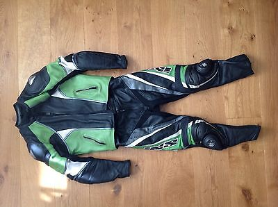 Frank Thomas Two Piece Leather Suit