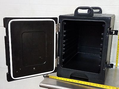 Carlisle Cateraide Insulated Food Catering Cater Pan Buffet Carrier Black
