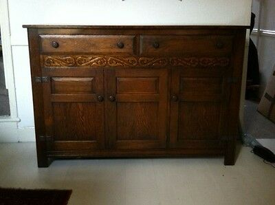 Antique Oak Welsh cabinet