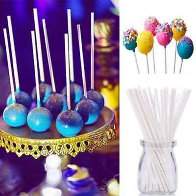 50pcs Paper Colorful Lollipop Sticks Cake Pop Sticks for Candy Chocolate Candy
