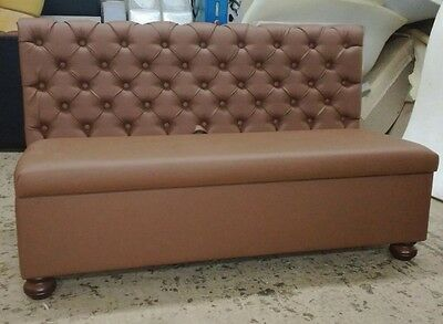 Chesterfield Booth Seating, Sofa, Dining Bench, Banquette , Commercial Seating