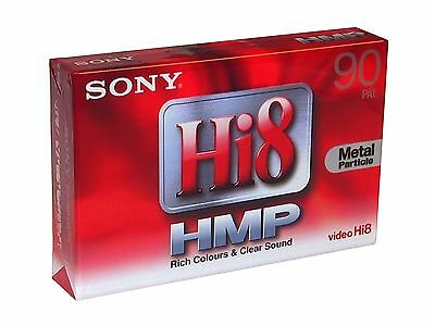 Sony Video Hi8 / Digital8 Camcorder Kassette - 8mm Videocassette P5-90 HMP